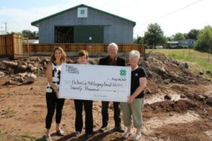 Kings Mutual Donates $20,000 to the expansion of the Pictou County 4-H Barn